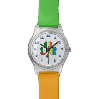 UAE Ukraine Ireland Shamrock Wristwatches