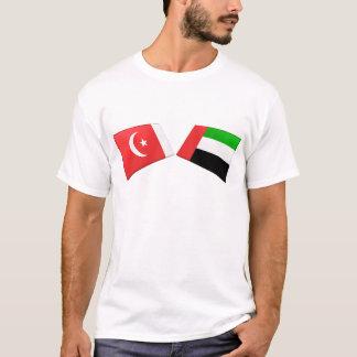 UAE & Umm al-Quwain Flag Tiles T-Shirt
