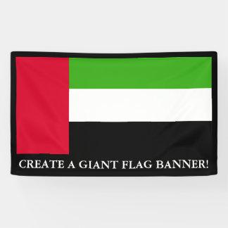 UAE United Arab Emirates Flag Banner