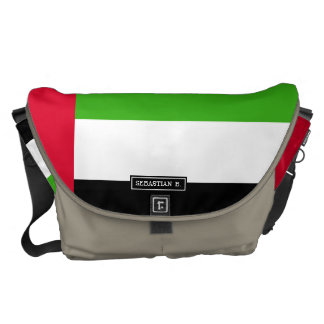 UAE United Arab Emirates Flag Courier Bags