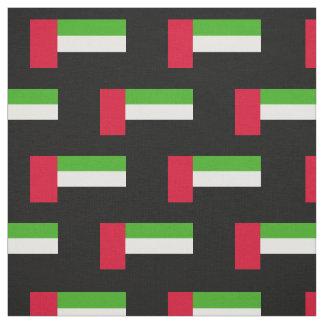 UAE United Arab Emirates Flag Fabric