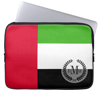 UAE United Arab Emirates Flag Laptop Computer Sleeve