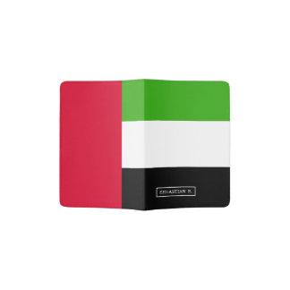 UAE United Arab Emirates Flag Passport Holder