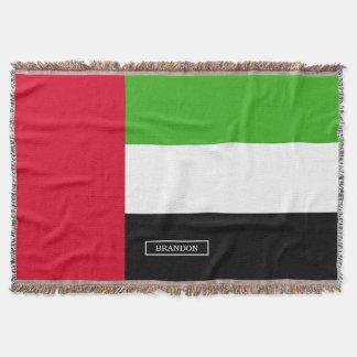 UAE United Arab Emirates Flag Throw