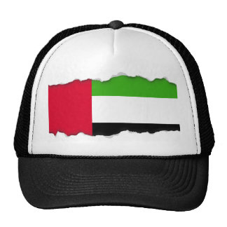 UAE United Arab Emirates Flag Trucker Hat
