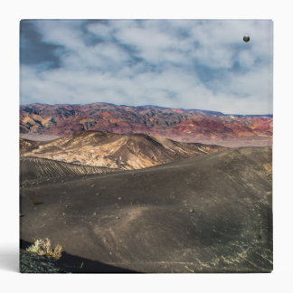 Ubehebe Crater Death Valley 3 Ring Binder