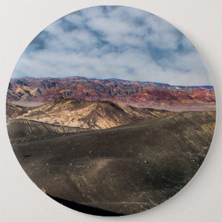 Ubehebe Crater Death Valley 6 Inch Round Button