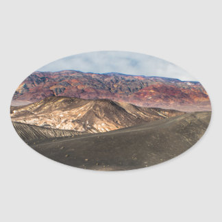 Ubehebe Crater Death Valley Oval Sticker