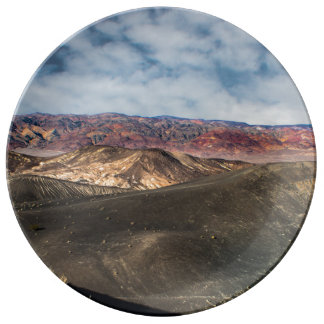 Ubehebe Crater Death Valley Plate