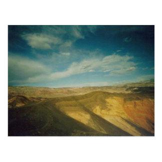 Ubehebe Crater- Death Valley Postcard