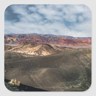 Ubehebe Crater Death Valley Square Sticker