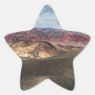 Ubehebe Crater Death Valley Star Sticker