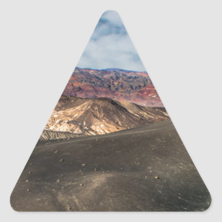 Ubehebe Crater Death Valley Triangle Sticker