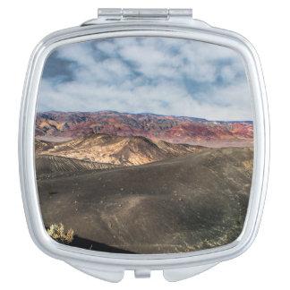 Ubehebe Crater Death Valley Vanity Mirror