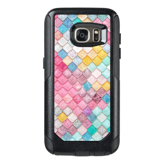 Uber Colourful Tile Pattern OtterBox Samsung Galaxy S7 Case