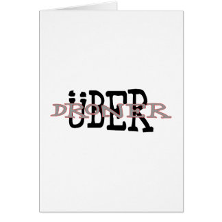 Uber Droner Card