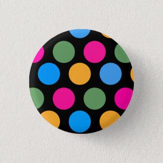 Uber Polka 1 Inch Round Button