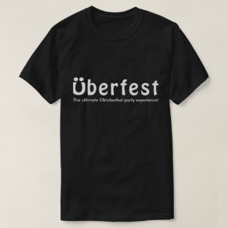 Überfest Men's Black T-Shirt