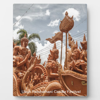 Ubon Ratchathani Candle Festival Travel Plaque