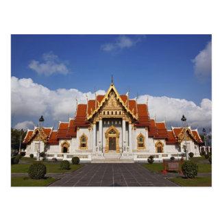 Ubosot Hall or Bot, Wat Benchamabophit, Bangkok, Postcard