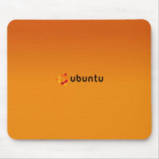 Ubuntu Classic orange Mouse Pad
