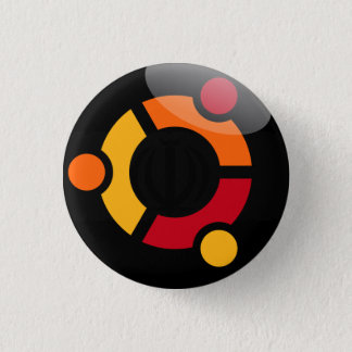 Ubuntu Linux swipes in 1 Inch Round Button