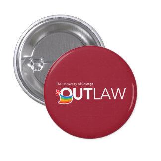 Uchicago OutLaw - Button 1 Inch Round Button