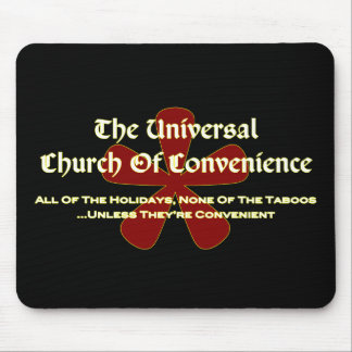 UCOC Taboos - Dark Mouse Pad