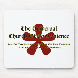 UCOC Taboos Mouse Pad