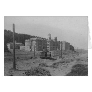 UCSF Schools 1900 - notecard