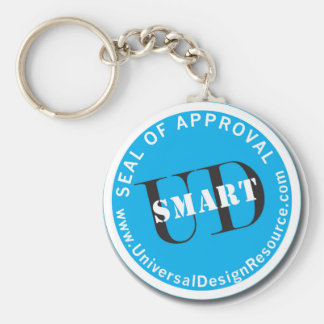 UD-Smart Seal of Approval Basic Round Button Keychain