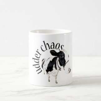 Udder chaos coffee mug