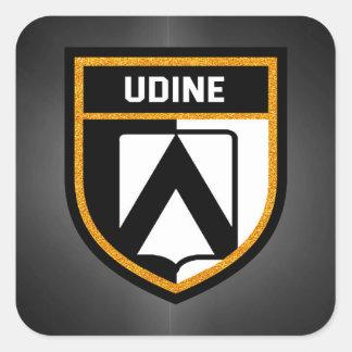 Udine Flag Square Sticker