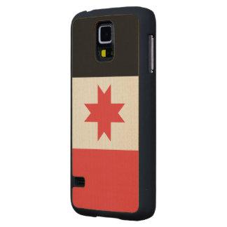 Udmurtia Flag Maple Galaxy S5 Slim Case