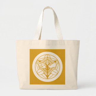 Uesugi house bamboo grass large tote bag