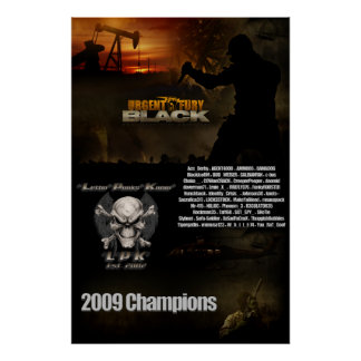 UF Black Championship Poster Wall Size
