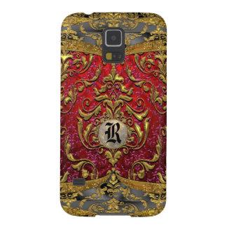 Ufaycicle Baroque Damask Monogram Case For Galaxy S5
