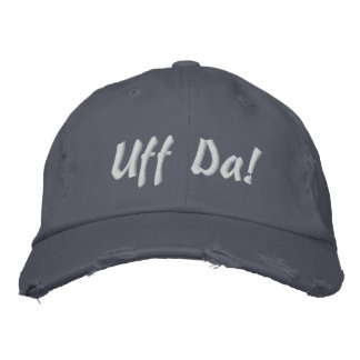 Uff Da Embroidered Hat