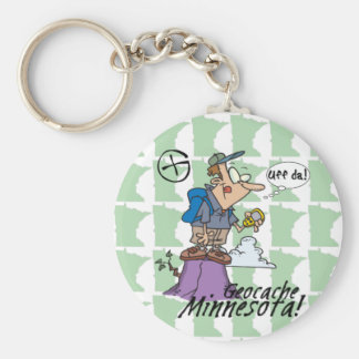 Uff da! Minnesota Cacher Keychain #1