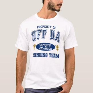 Uff Da Norwegian Drinking Team T-Shirt
