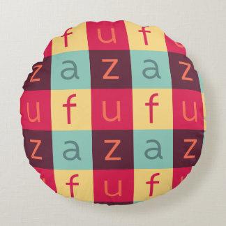 Uffizi ART Logo Round Cotton Pillow