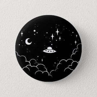 Ufo 2 Inch Round Button