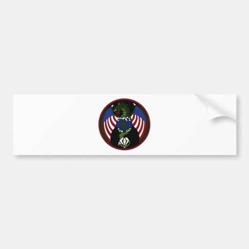 UFO ALIEN HUNTERS SPECIAL FORCES PATCH BUMPER STICKERS