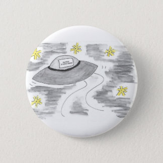 UFO Birthday 2 Inch Round Button