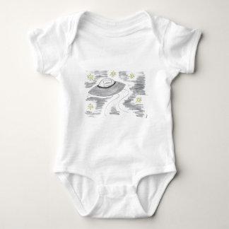UFO Birthday Baby Bodysuit