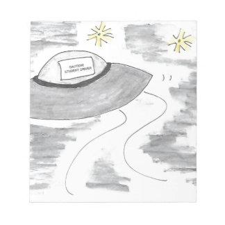UFO Birthday Notepad