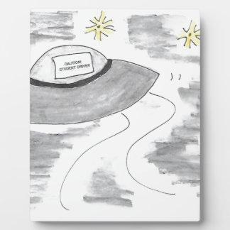 UFO Birthday Plaque