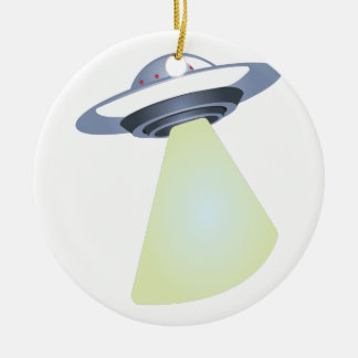 UFO CERAMIC ORNAMENT