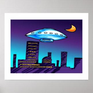 UFO City Poster