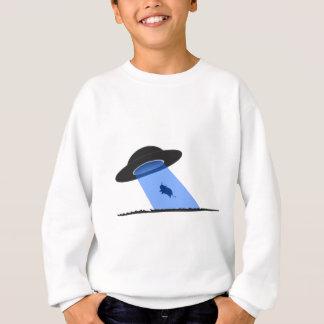 Ufo Cow Abduction clothing Sweatshirt